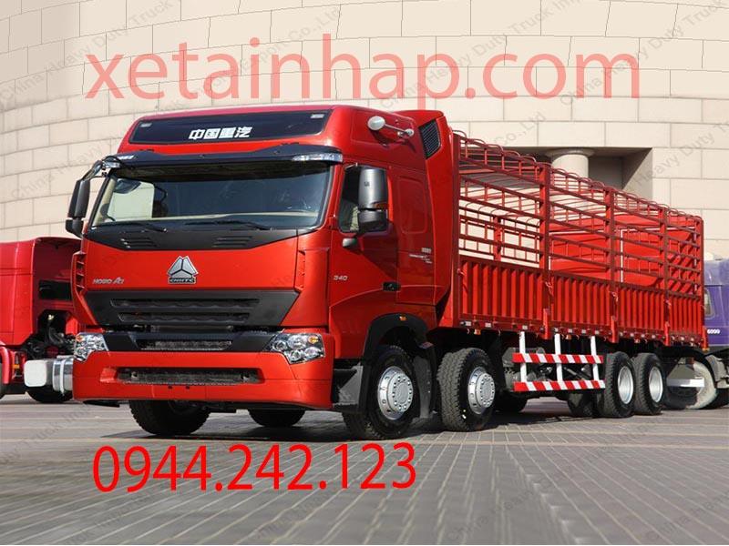 xe tải thùng howo A7